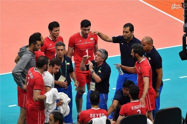 المپیک 2016 ریو؛ نتیجه دیدار والیبال ایران و آرژانتین +عکس