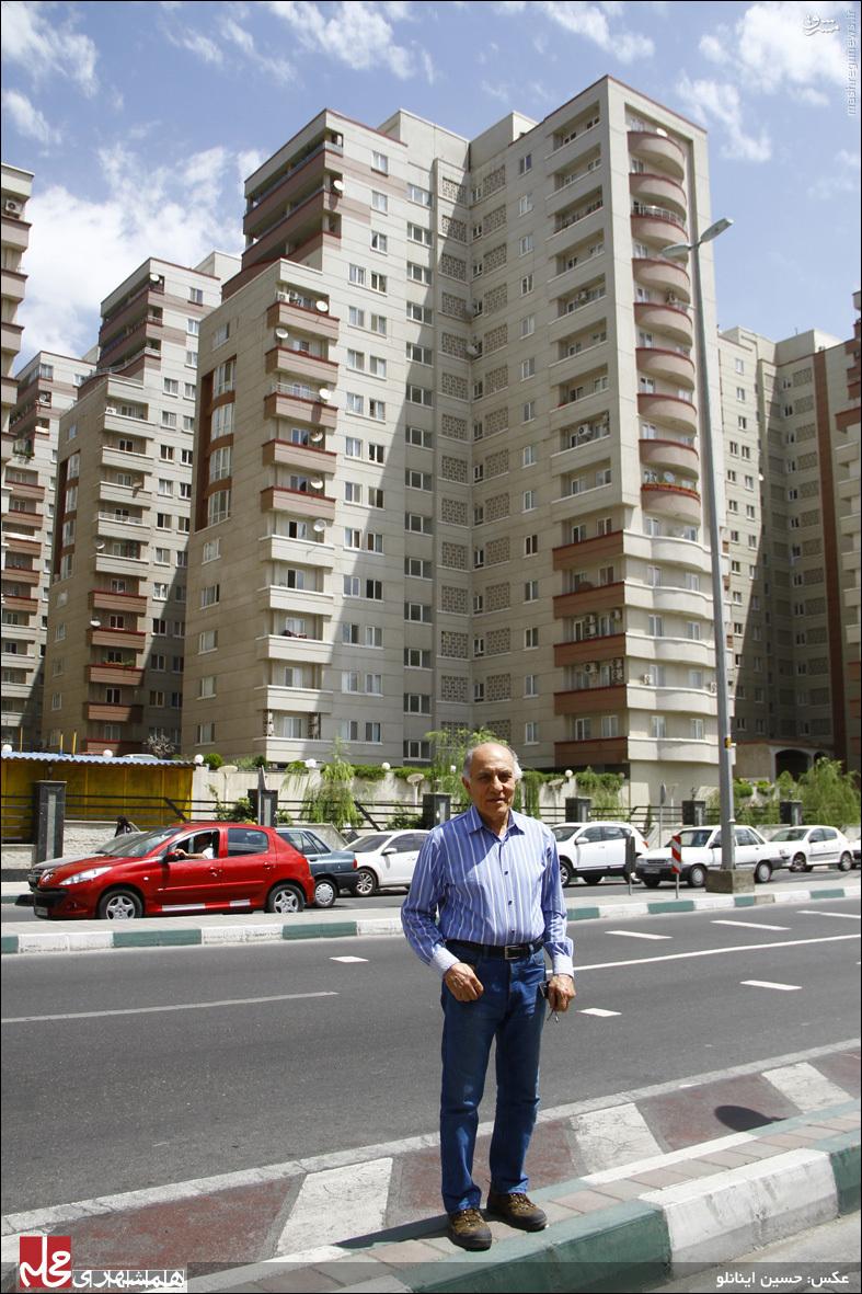 مخترع تهرانی آسانسور نسوز و تاکسی هوایی +عکس