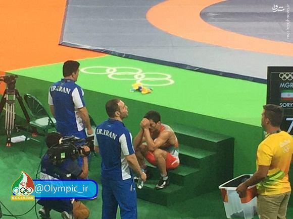 عکس/ حال و روز سوریان پس از حذف از المپیک