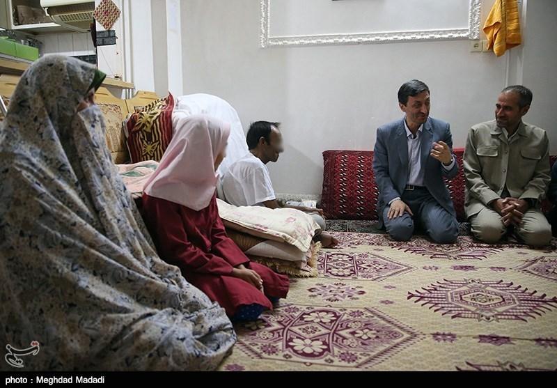 رئیس کمیته امداد در سرزمین ریاست جمهوری +تصاویر