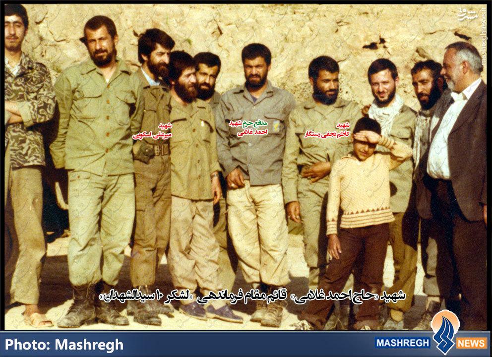 قائممقامِ «کاظم رستگار» در «حلب» رستگار شد+تصاویر اختصاصی