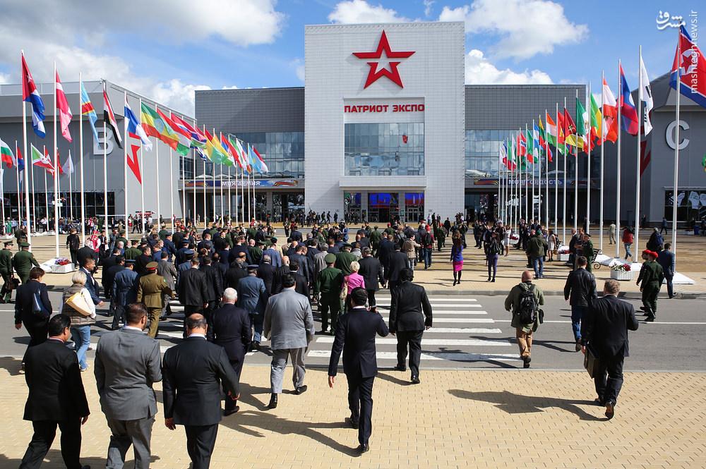 سلاح و تجهیزات مدرن در نمایشگاه نظامی مسکو