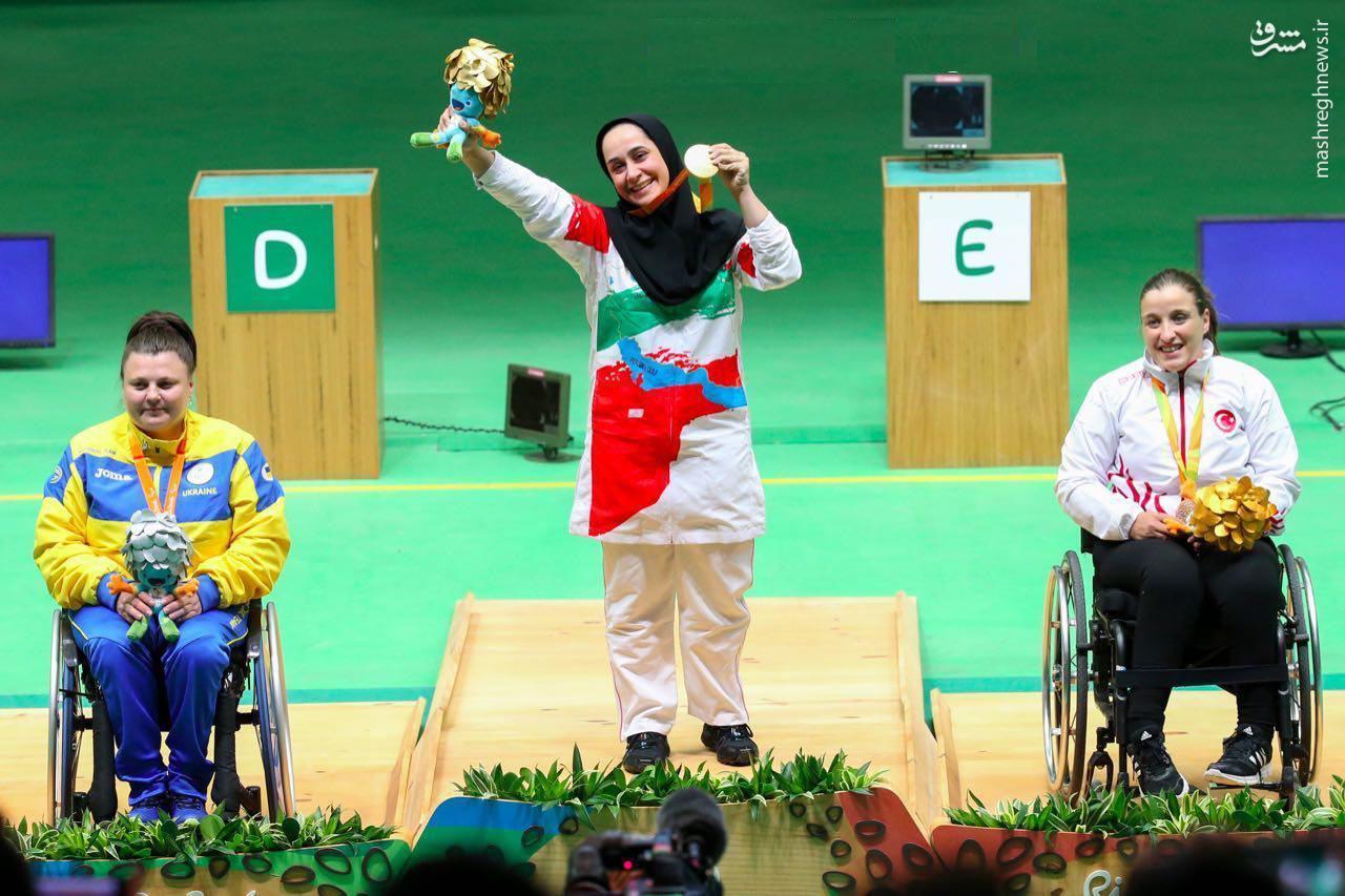 کسب مدال طلا توسط ساره جوانمردی