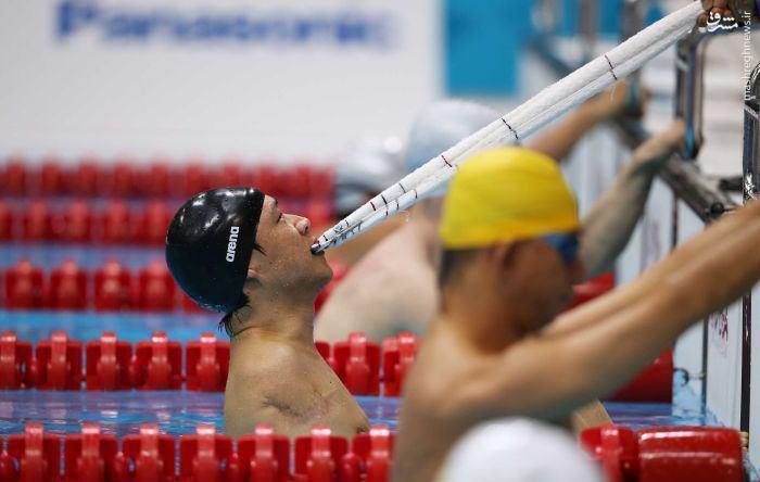عکس/ قهرمان با اراده پارالمپیک