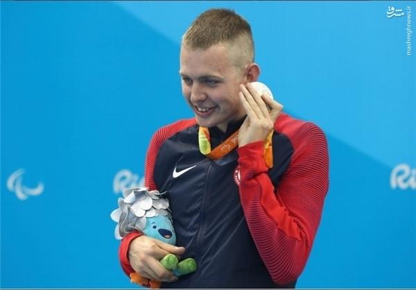 حرکت جالب مدالآوران پارالمپیکی + تصاویر