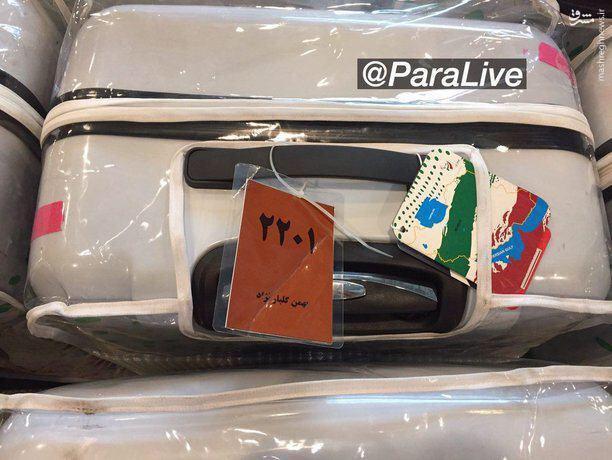 عکس/ یک تصویر غم انگیز از بازگشت پارالمپیکیها
