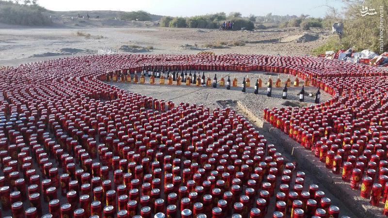 کشف بیش از 1500 قوطی مشروبات الکلی در سیریک