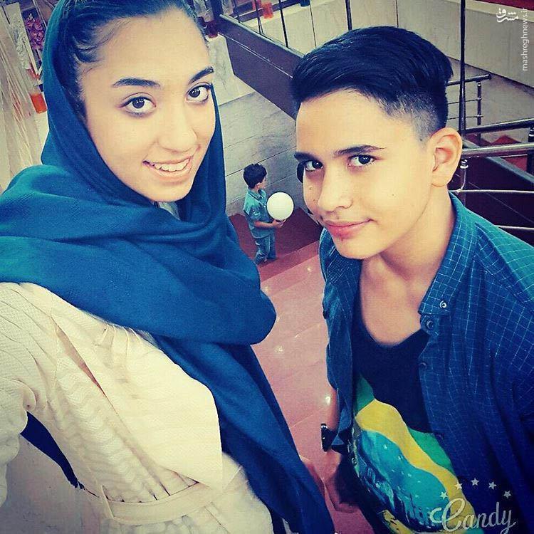 عکس/ کیمیای تکواندوی ایران در کنار برادرش