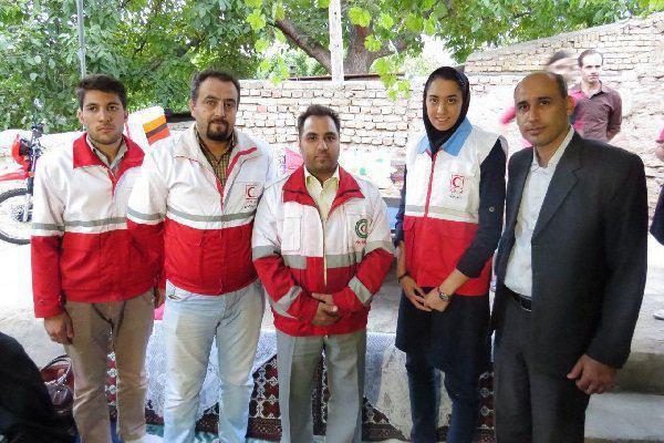 عکس/ بانوی تاریخ ساز ایرانی عضو هلال احمر شد