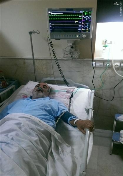 پیشکوست پرسپولیس دوباره در بیمارستان بستری شد +عکس