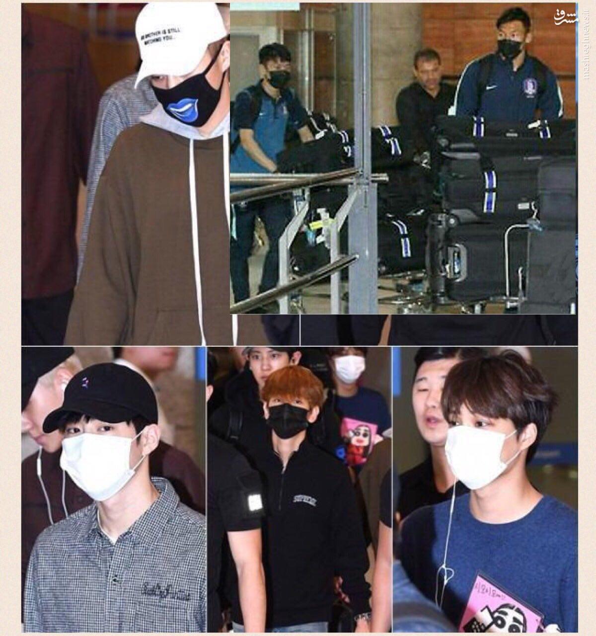 دلیل استفاده بازیکنان کره از ماسک مشکی+عکس