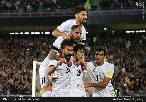 برتری ایران مقابل کرهجنوبی در نیمه نخست