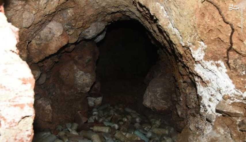کشف تونل سری در مرز سوریه و ترکیه +عکس