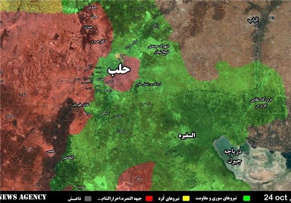 حلب در آستانه آغاز عملیات بزرگ