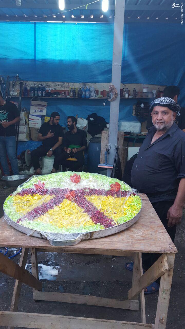 عکس/ موکب دار خوش سلیقه عراقی
