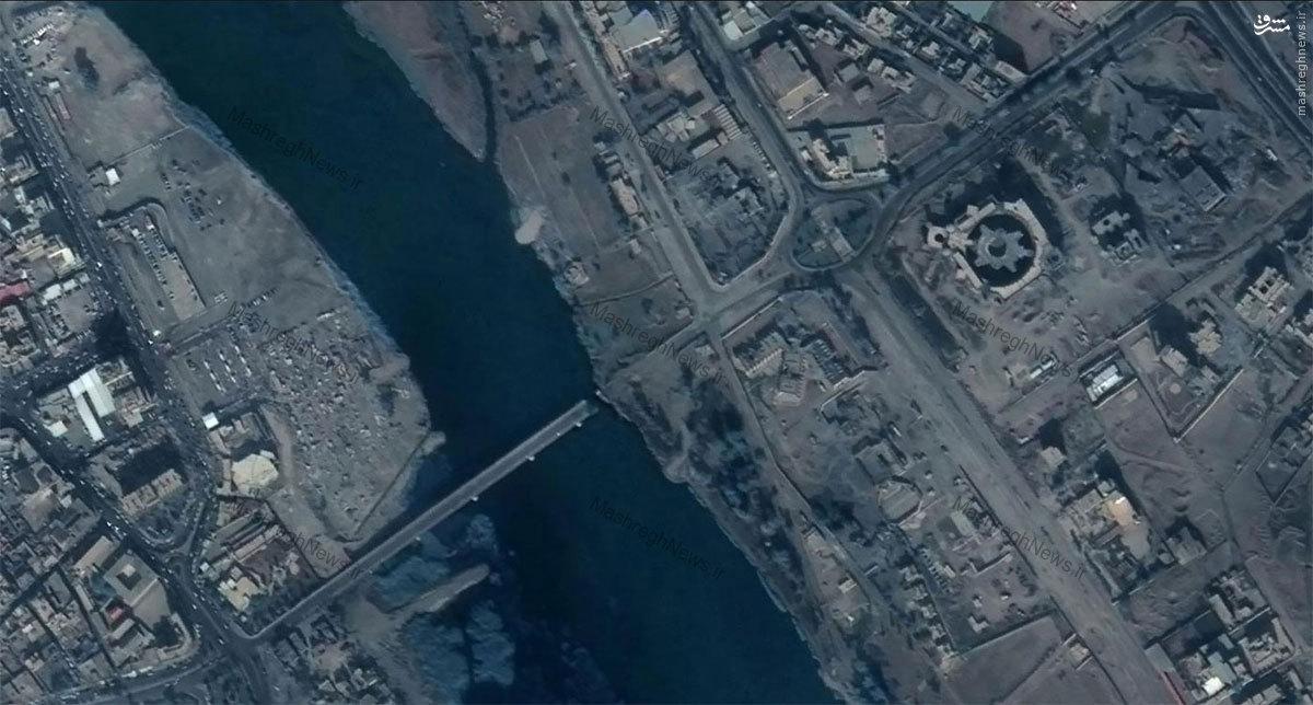 تخریب پل موصل