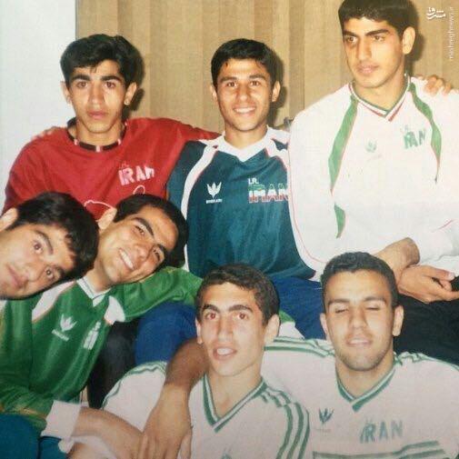 عکس/ جوانی ستارگان فوتبال ایران