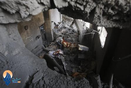 جستجو برای یافتن اجساد قربانیان حملات هوایی صهیونیستها