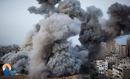 ویرانی ها و خسارات ناشی از اصابت راکت