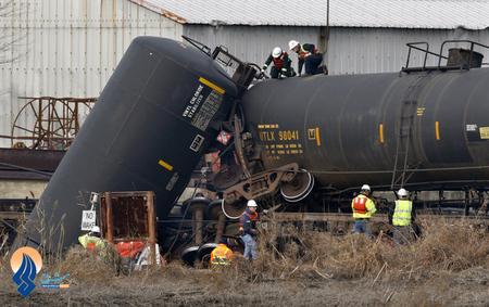 تصادف قطار در نیوجرسی - آمریکا