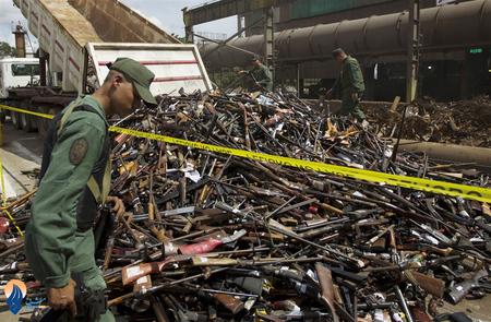نابودی سلاح های غیر قانونی - ونزوئلا