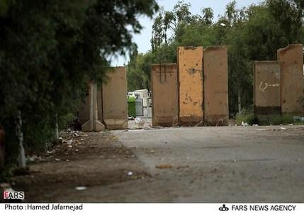 مقر گروهک منافقین در پادگان اشرف