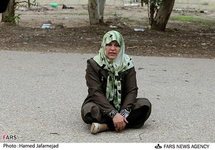 ثریا عبداللهی مادر امیر اصلان حسن زاده یکی از اسیران در بند فرقه رجوی