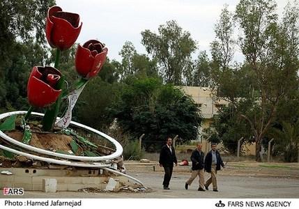 میدان لاله در پادگان اشرف