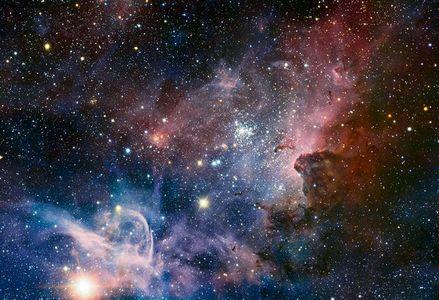 تصویر تلسکوپ رصدخانه جنوبی اروپا از سهابی کارینا