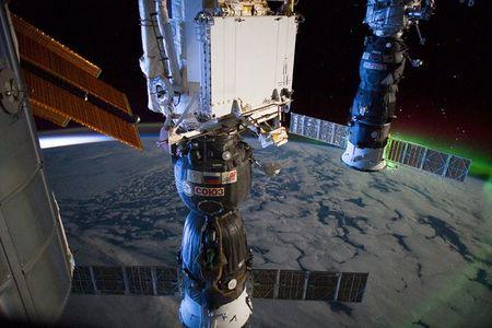 ثبت سپیده دم از ایستگاه فضایی