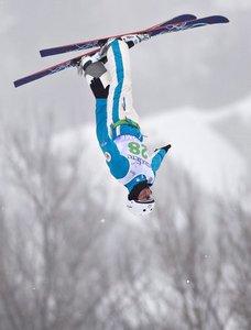 پرش زیبای پیتر مدولیچ اسکی باز روس در جام جهانی اسکی