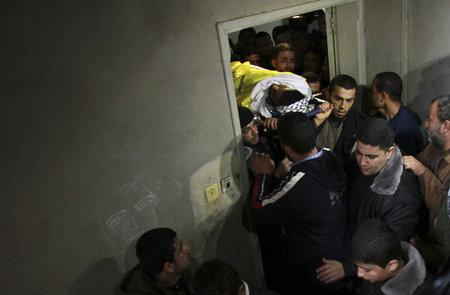 شهادت جوان فلسطینی بدست سربازان اسرائیلی،نوار غزه