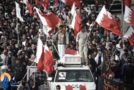 تشییع پیکر ابراهیم عبدالله حبیب در بحرین