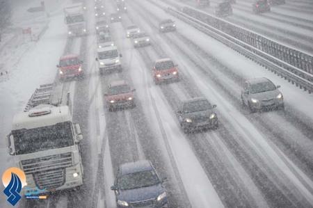 بارش سنگین برف و کولاک،جنوب آلمان