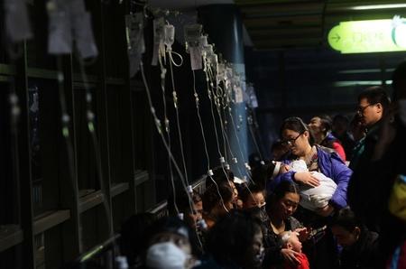 شیوع بیماری آنفولانزا در پکن-چین