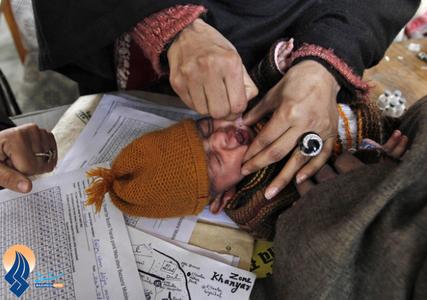 مبارزه با فلج اطفال در هند