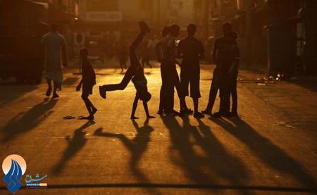 بازی کودکان در خیابان ـ سریلانکا