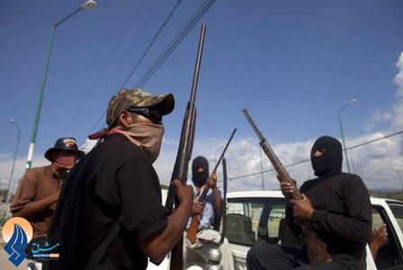 دفاع نیروهای مردمی برابر بندهای پخش مواد مخدر،زورگیران خیابانی و آدم ربایان در ایالت گوئرو _ مکزیک