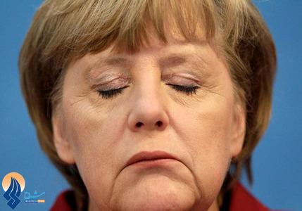 ناراحتی صدراعظم آلمان بعد از شکست در یک انتخابات ایالتی
