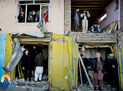 حمله انتحاری طالبان به یک مرکز پلیس کابل _ افغانستان