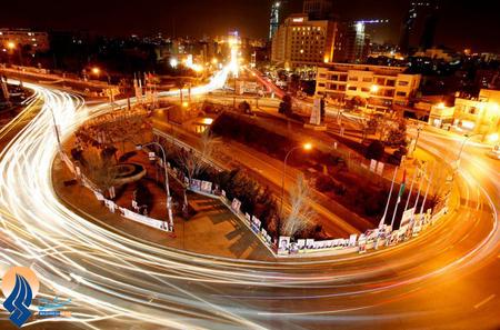 فضای انتخاباتی شهر امان _ اردن