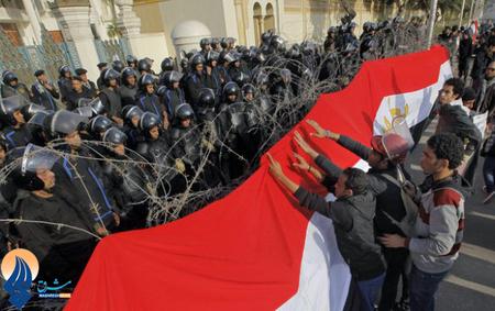 تظاهرات مردمی بعد از نماز جمعه در قاهره ـ مصر