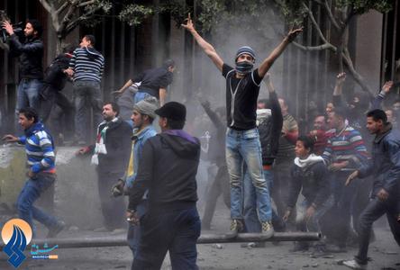 تظاهرات مردم قاهره بعد از نماز جمعه در قاهره ـ مصر