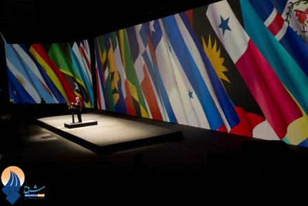 سخنرانی رئیس جمهوری شیلی در مراسم افتتحایه اجلاس(CELAC) در سانتیاگو ـ شیلی