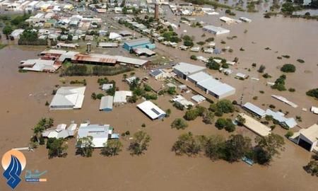 سیل شدید در استرالیا