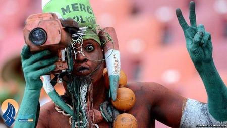 تماشاگران تیم نیجر در جام ملت های آفریقا