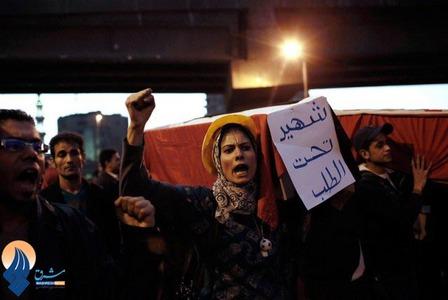 اعتراضات به کشته شدن جوان مصری به دست نیروهای امنیتی مصر