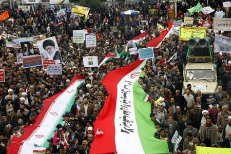راهپیمایی یوم الله 22 بهمن در گرگان