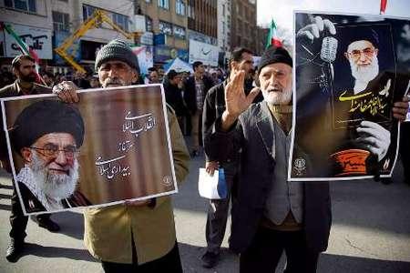 راهپیمایی یوم الله 22 بهمن در کرمانشاه