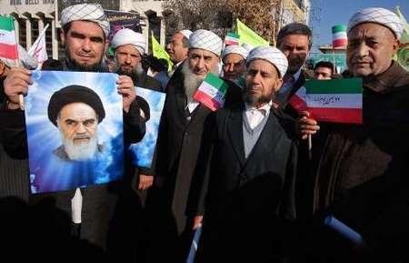 حضور قومیت های مختلف خراسان شمالی در راهپیمایی یوم الله 22 بهمن